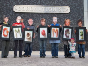 campaigners spell GMO OMG as Coronation Street characters