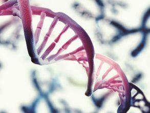 CGI snapshot of a DNA double helix