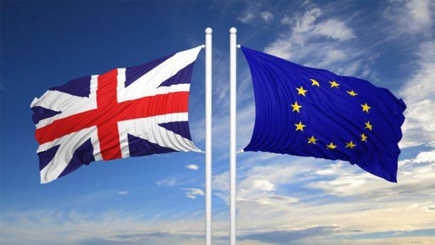 Brexit 2 flags